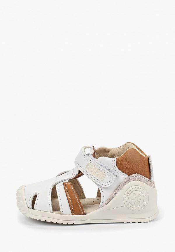 сандалии biomecanics малыши, белые