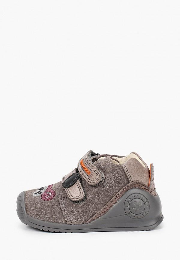 ботинки biomecanics малыши, серые