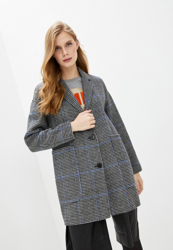 женское пальто bimba y lola, серое