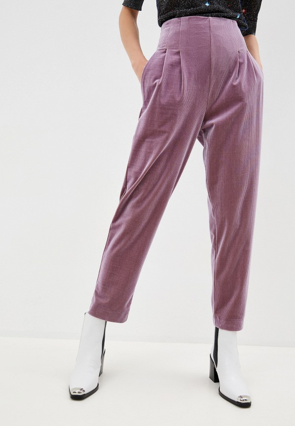 женские повседневные брюки bimba y lola, синие