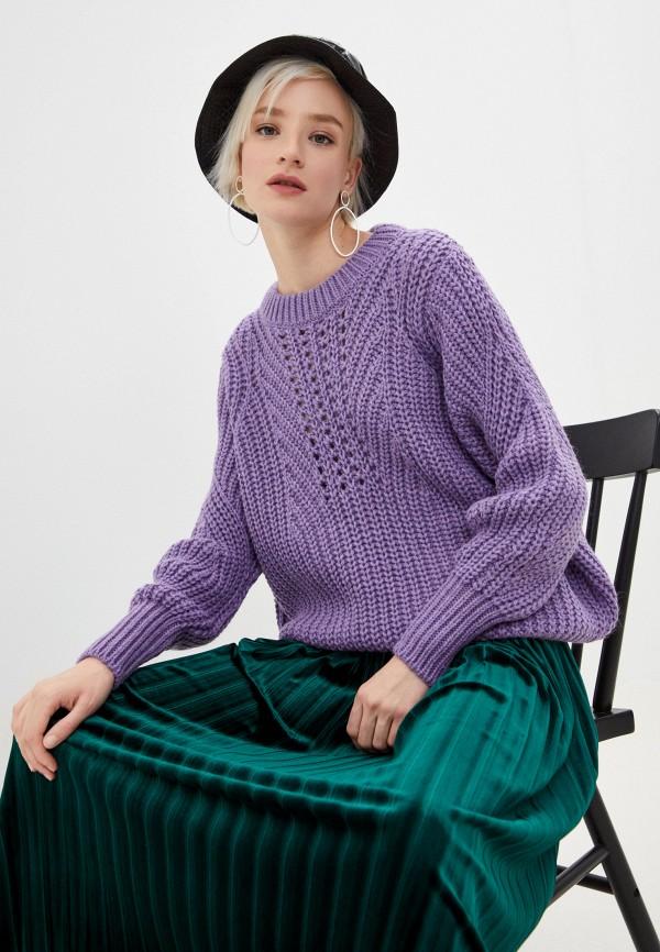 женский джемпер bimba y lola, фиолетовый