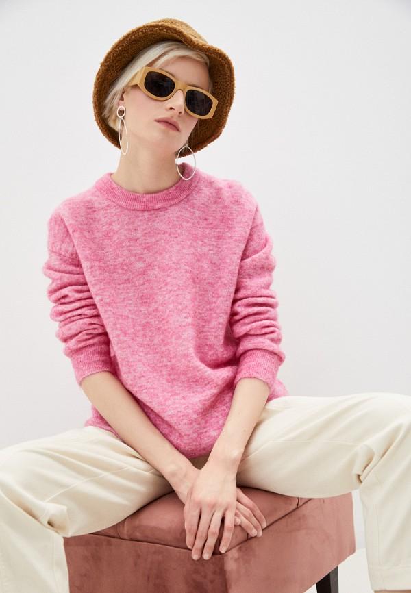 женский джемпер bimba y lola, розовый