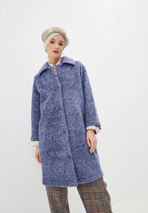 женское пальто bimba y lola, синее
