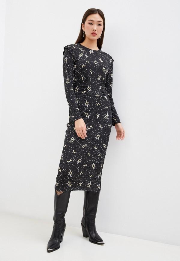 женское повседневные платье bimba y lola, черное