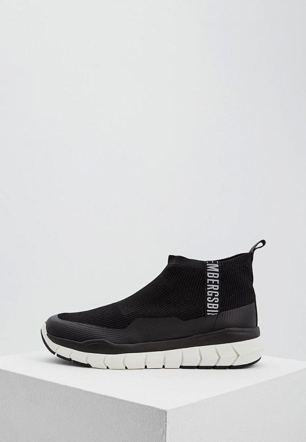 Мужские черные кроссовки Bikkembergs
