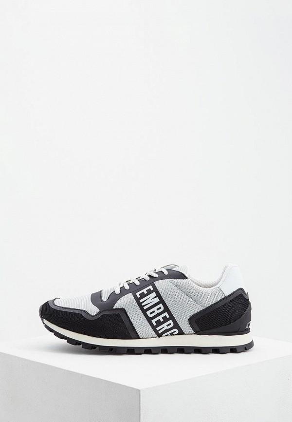 мужские низкие кроссовки bikkembergs, серые