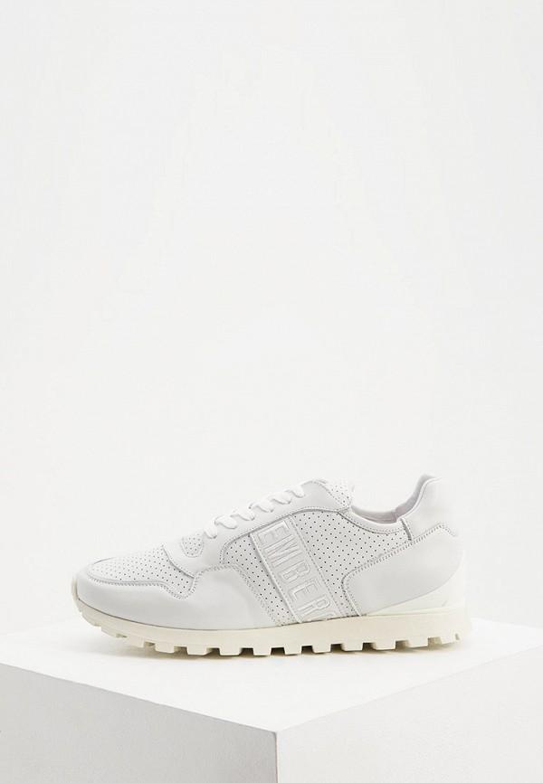 мужские кроссовки bikkembergs, белые