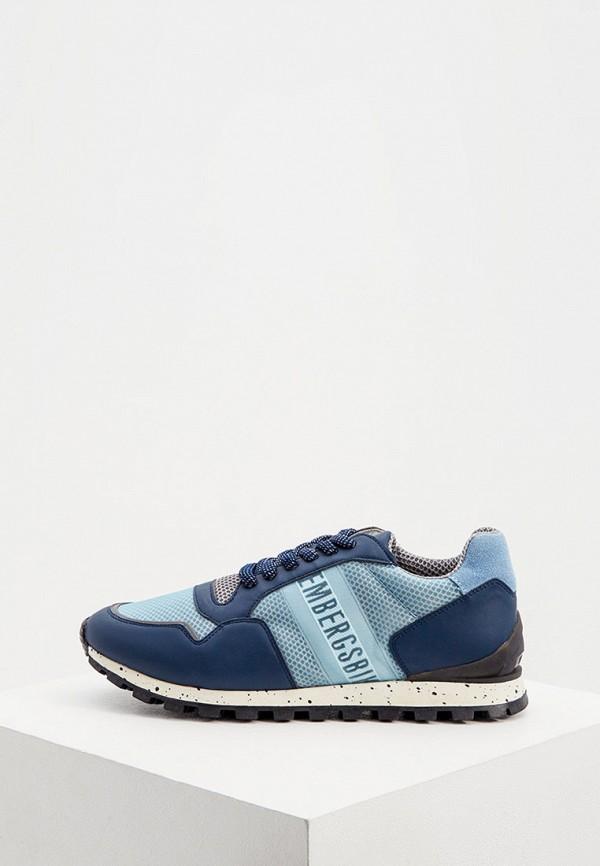мужские кроссовки bikkembergs, голубые