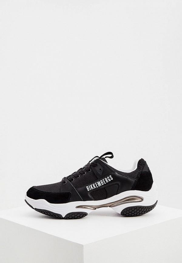мужские кроссовки bikkembergs, черные