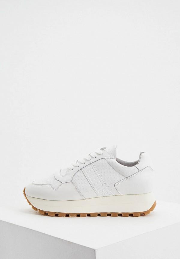 женские кроссовки bikkembergs, белые