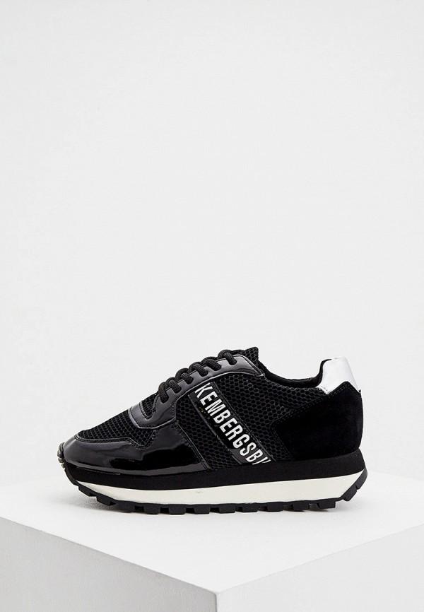 женские кроссовки bikkembergs, черные