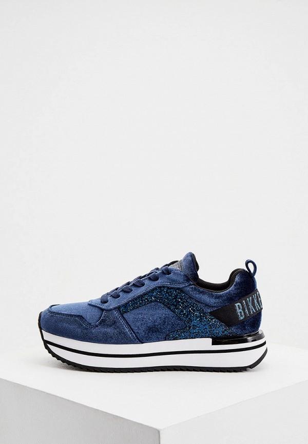 женские кроссовки bikkembergs, синие