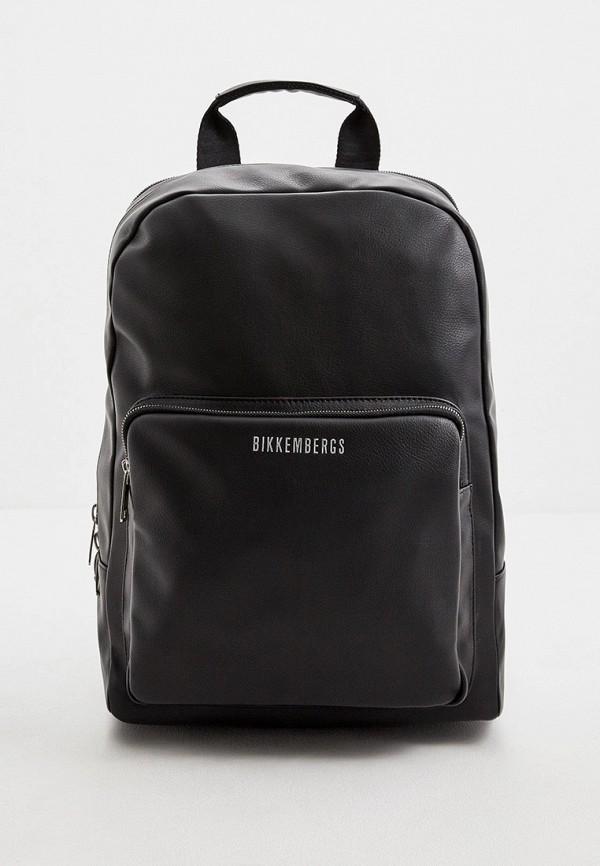 мужской рюкзак bikkembergs, черный