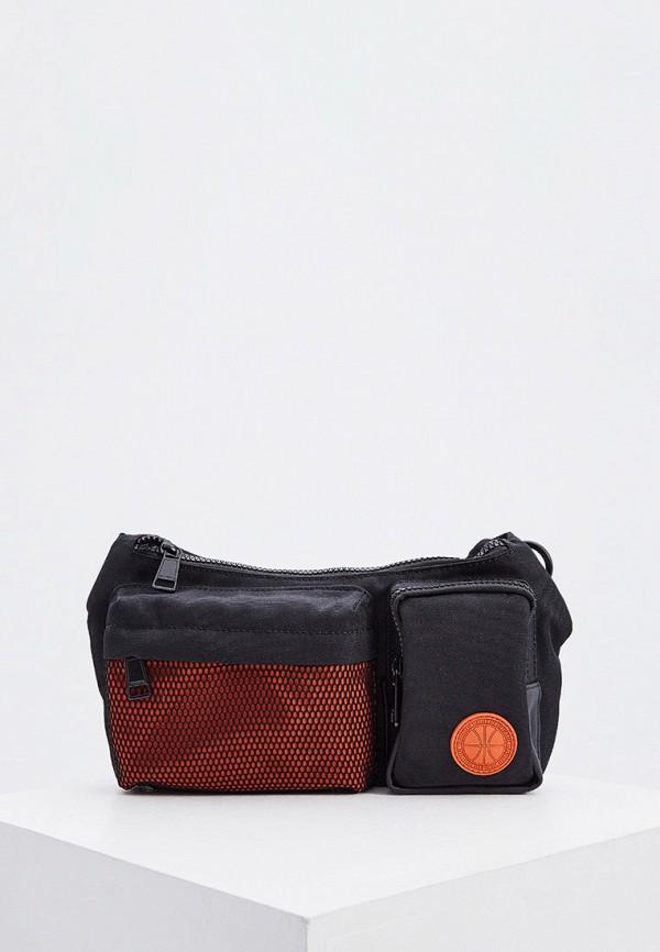 мужская сумка bikkembergs, разноцветная
