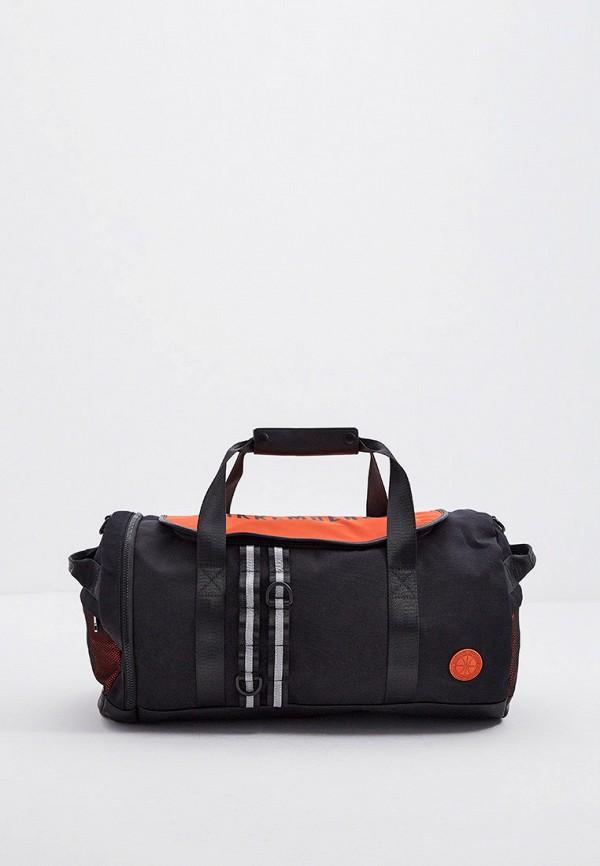 мужская дорожные сумка bikkembergs, черная