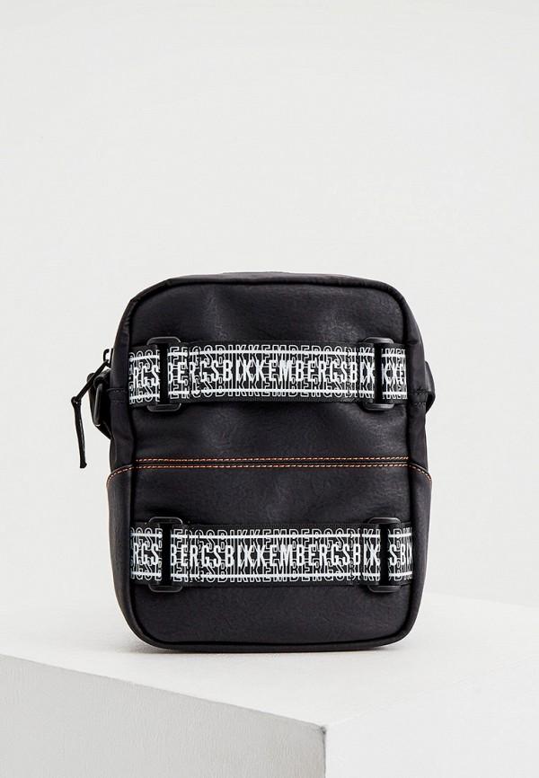 мужская сумка bikkembergs, черная