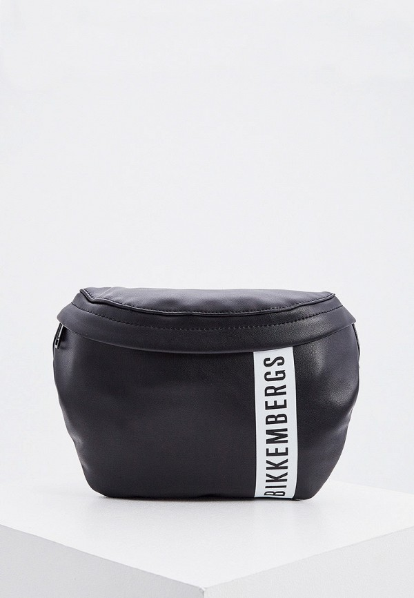 мужская поясные сумка bikkembergs, черная