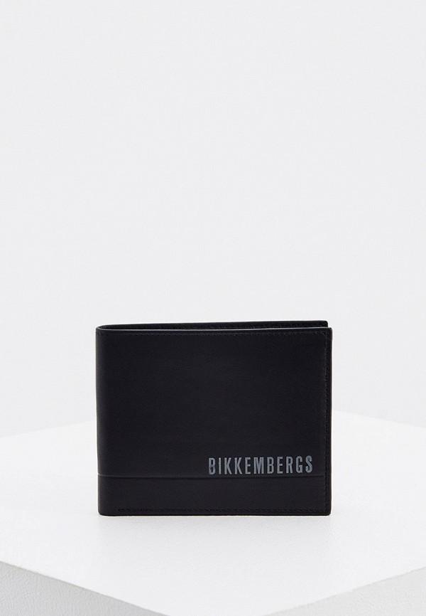 мужской кошелёк bikkembergs, черный