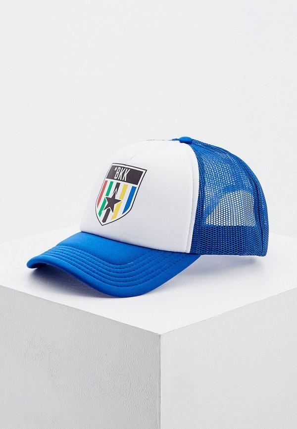 мужская бейсболка bikkembergs, синяя