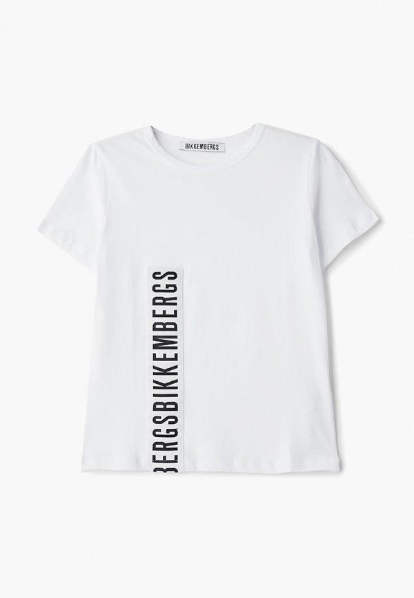 Футболка Bikkembergs Bikkembergs BI535EBELLZ3 ветровка bikkembergs bikkembergs bi535emaixy9