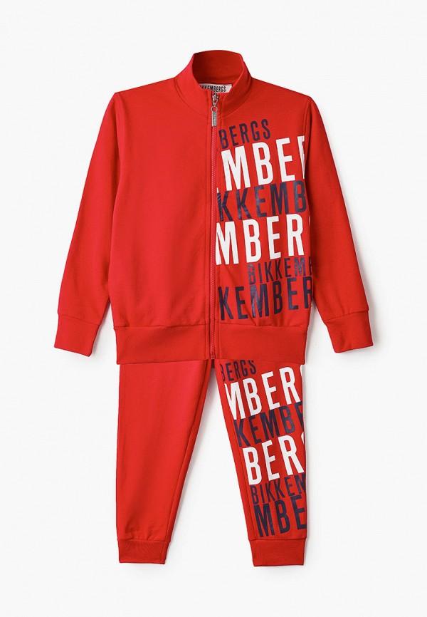 спортивный костюм bikkembergs для мальчика, красный