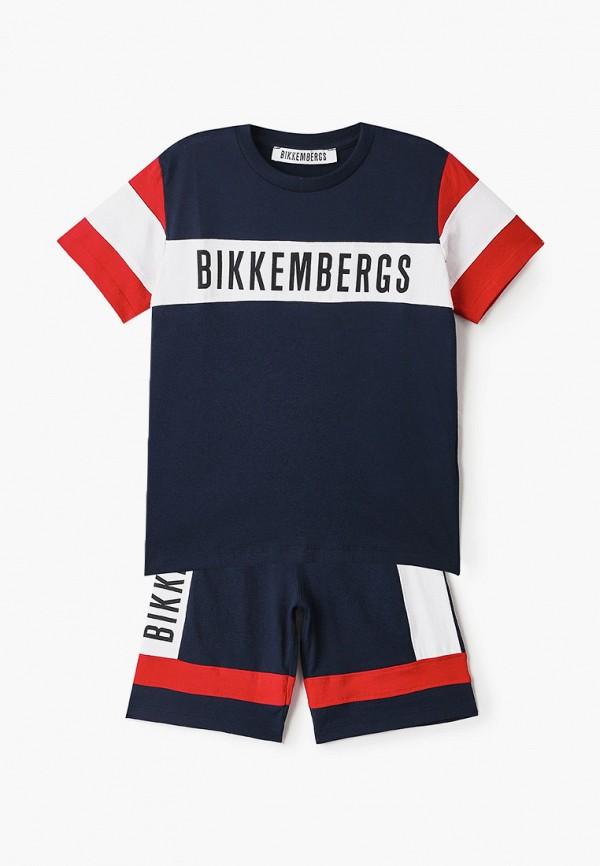 костюм bikkembergs для мальчика, синий