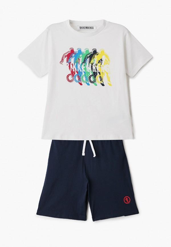спортивный костюм bikkembergs для мальчика, разноцветный