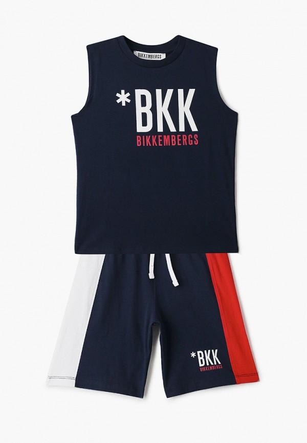 спортивный костюм bikkembergs для мальчика, синий