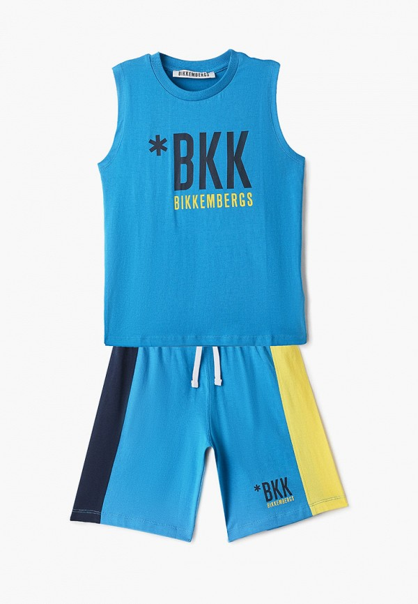 спортивный костюм bikkembergs для мальчика, голубой