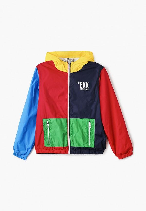 ветровка bikkembergs для мальчика, разноцветная