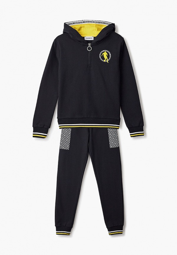 спортивный костюм bikkembergs для мальчика, черный