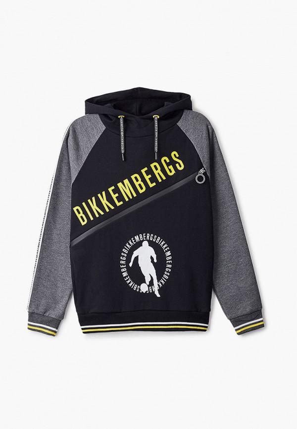 худи bikkembergs для мальчика, серые