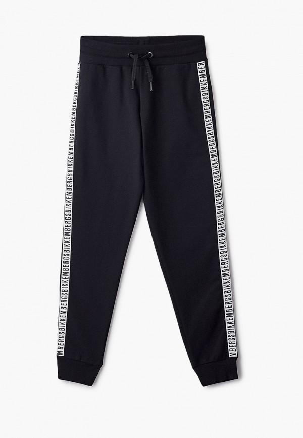 спортивные брюки bikkembergs для мальчика, черные