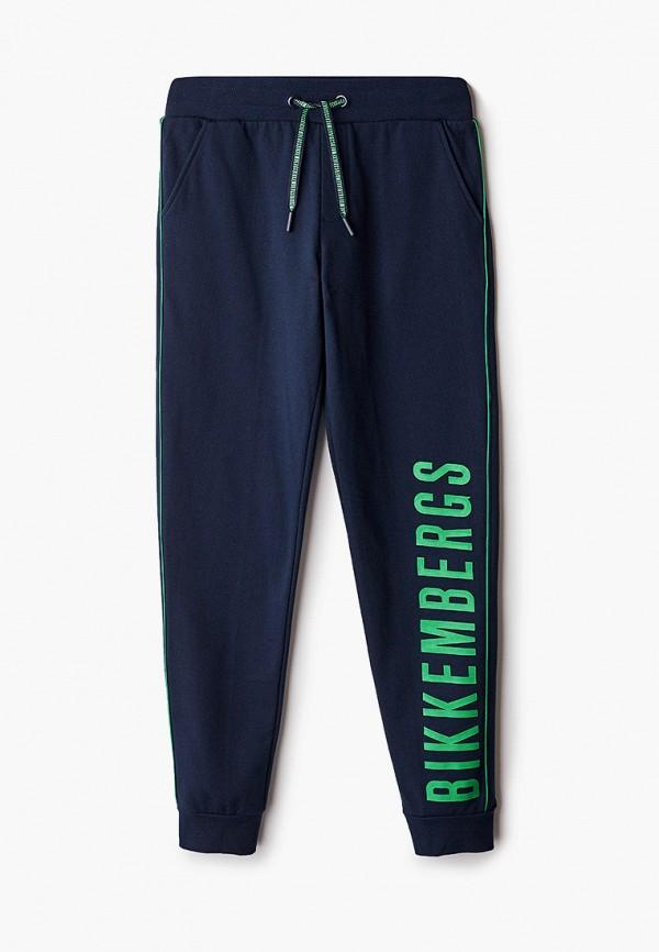 спортивные брюки bikkembergs для мальчика, синие