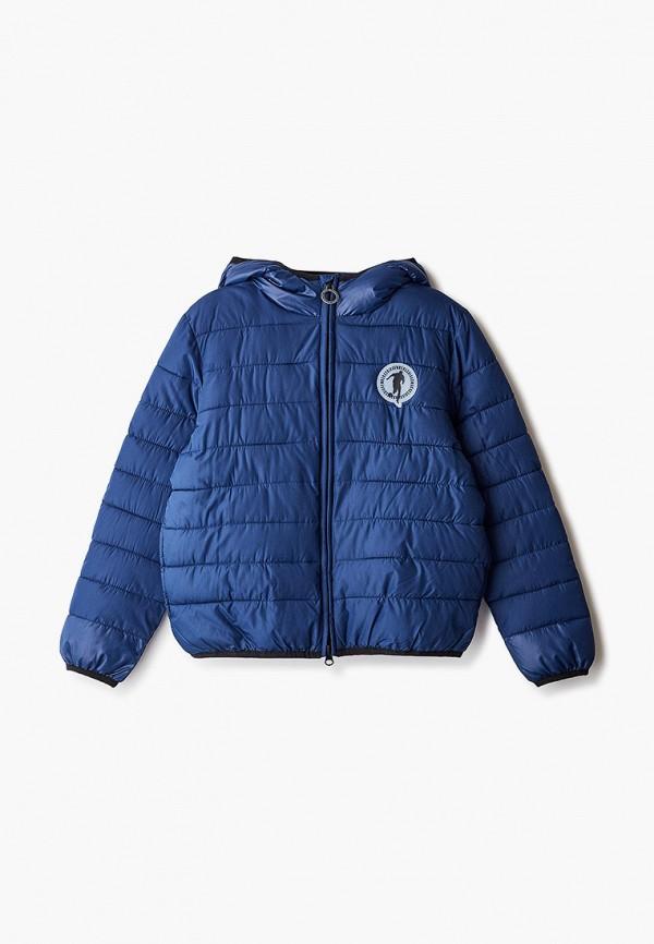 куртка bikkembergs для мальчика, синяя
