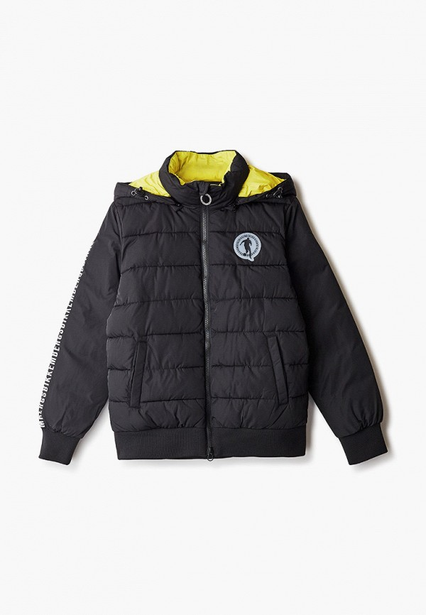куртка bikkembergs для мальчика, черная