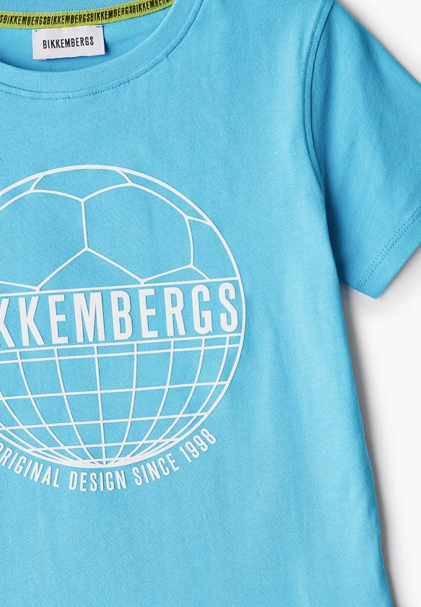 Футболка для мальчика Bikkembergs BK0214 Фото 3