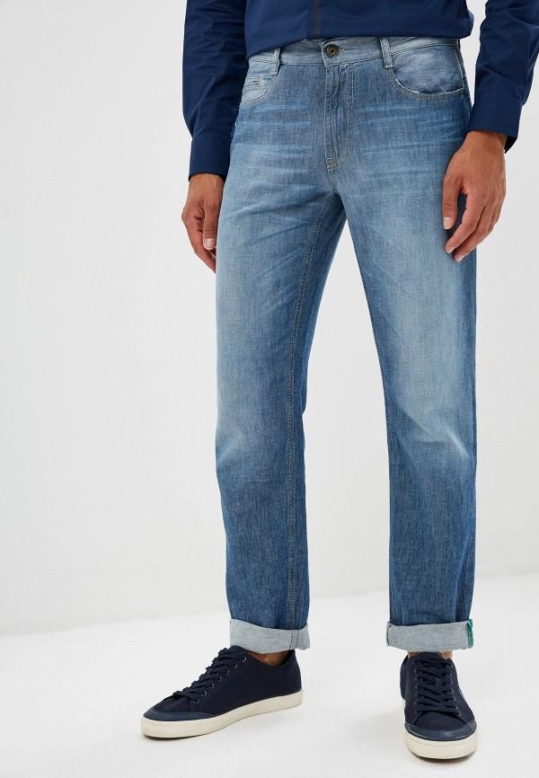 мужские прямые джинсы bikkembergs, синие
