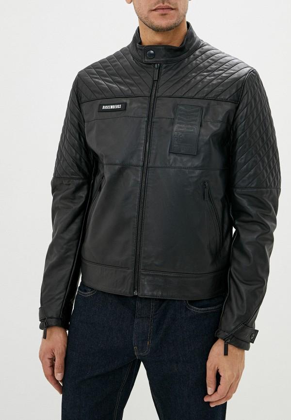 Куртка кожаная Bikkembergs Bikkembergs BI535EMFJOM7