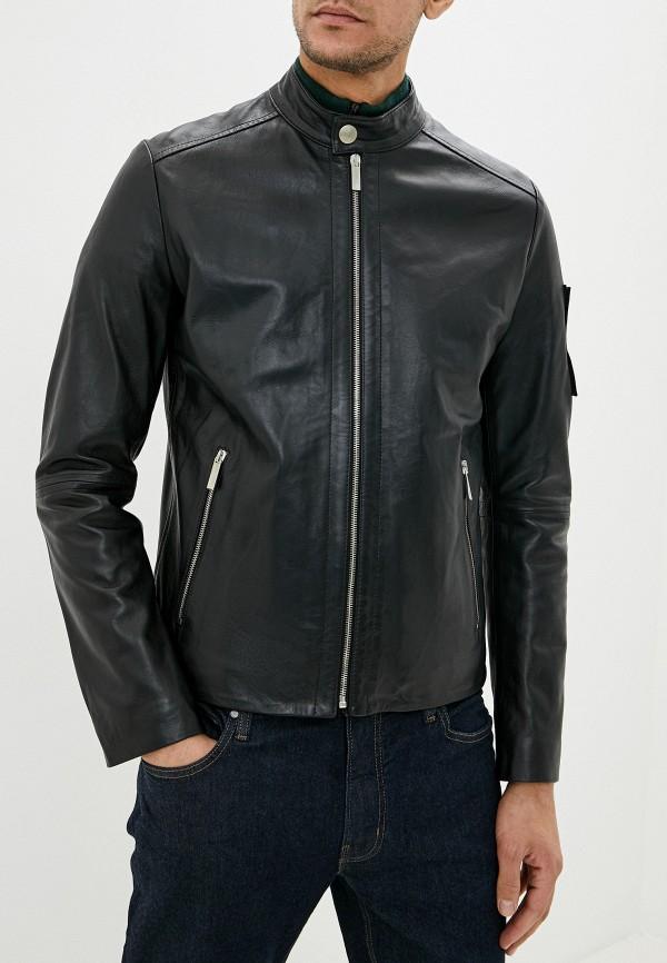 Куртка кожаная Bikkembergs Bikkembergs BI535EMFJOM8