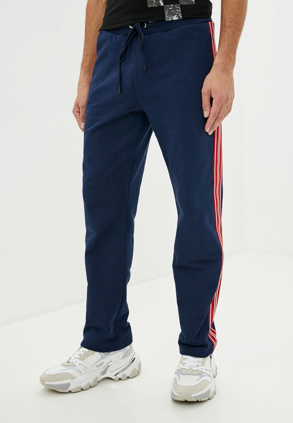 мужские спортивные брюки bikkembergs, синие