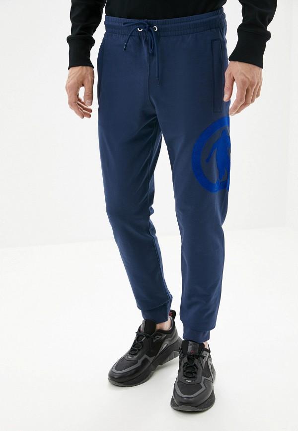 мужские спортивные спортивные брюки bikkembergs, синие