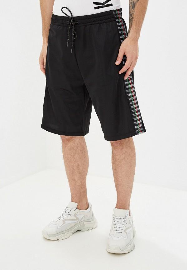 мужские повседневные шорты bikkembergs, черные