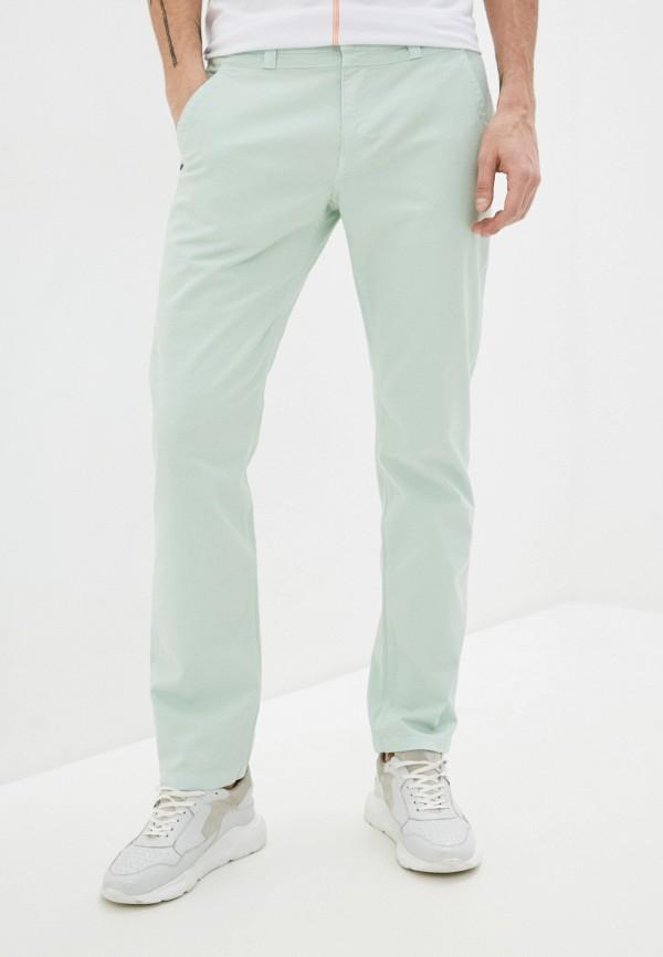 мужские повседневные брюки bikkembergs, бирюзовые