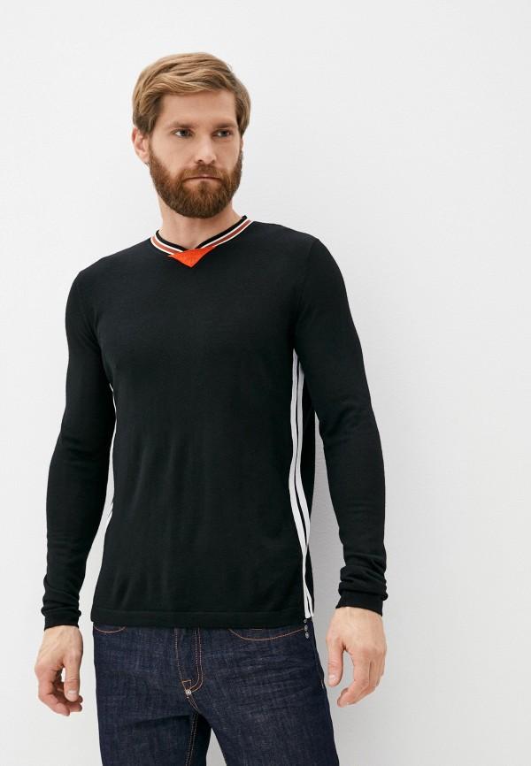 мужской пуловер bikkembergs, черный