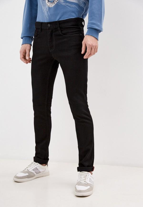 мужские зауженные джинсы bikkembergs, черные