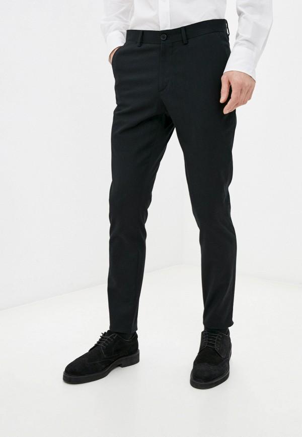мужские классические брюки bikkembergs, черные