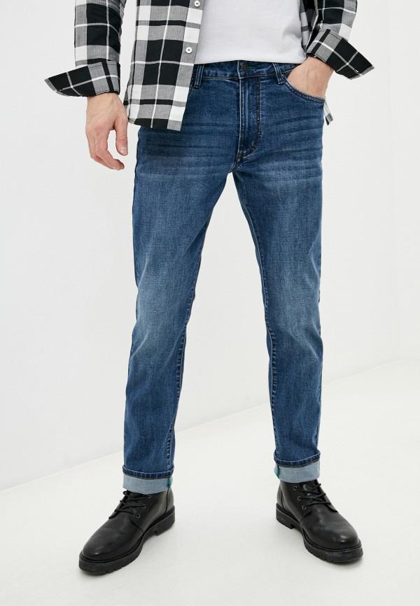мужские зауженные джинсы bikkembergs, синие