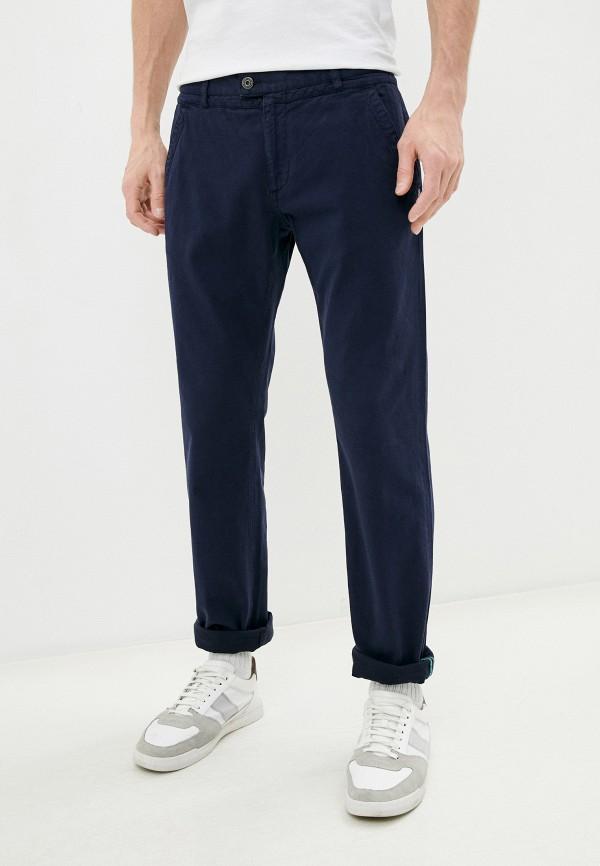 мужские повседневные брюки bikkembergs, синие