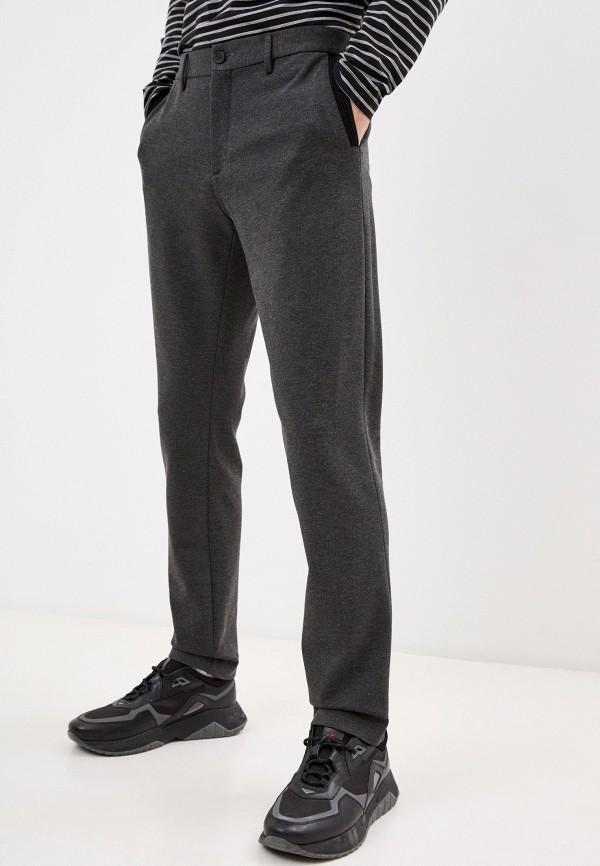 мужские повседневные брюки bikkembergs, серые
